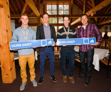 Run named after BAR Alumni Jan Hudec, Trevor Philp and Erik Read, after receiving silver medals at World Championships in 2016