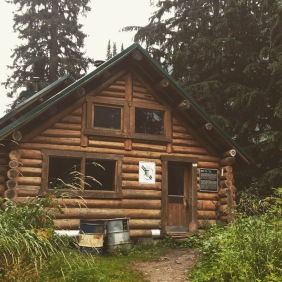 Home for the night - Wheeler Hut
