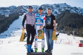 Executive Director & Norquay GM on the podium for Bozo